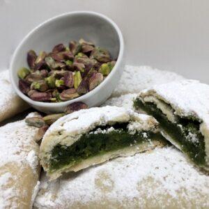 cassatelle di agira al pistacchio siciliano