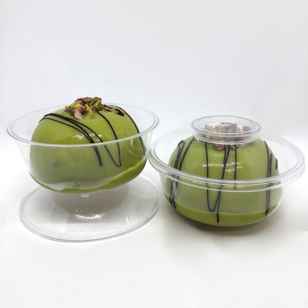 cassatine cassatelle con ricotta di pistacchio