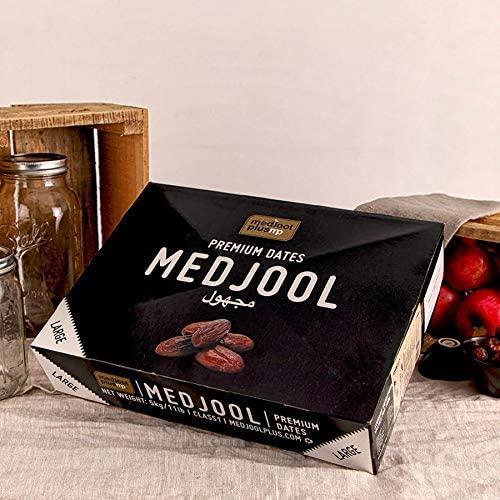 Datteri Medjoul PREMIUM LARGE con nocciolo 5 kg - datteri essiccati extra morbidi senza zucchero e senza zolfo, teneri e dolci, origine Israele