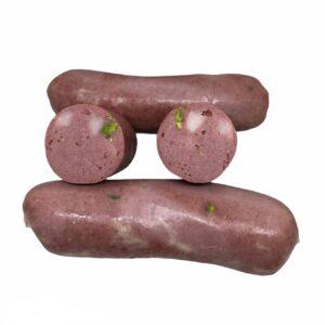 Mortadellina di suino dei nebrodi con pistacchio e finocchietto selvatico