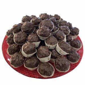 Praline al cioccolato stile ferrero rocher