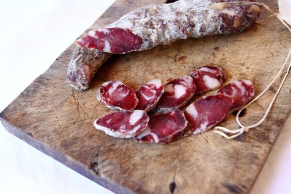 Salsiccia stagionata di Suino Dei Nebrodi