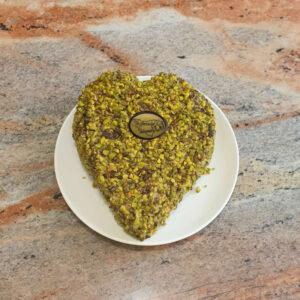 Torta Cuore al Pistacchio