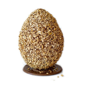 Uovo di Pasqua Artigianale al cioccolato fondente