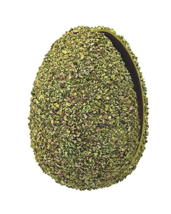 uovo di pasqua 2021 pistacchio aperto